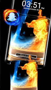 Download Fire & Ice Theme Launcher For PC Windows and Mac apk screenshot 4