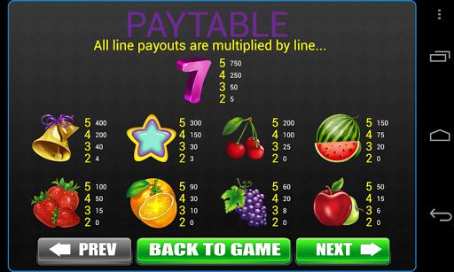 Classic 777 Fruit Slots -Vegas Casino Slot Machine apkdebit screenshots 8