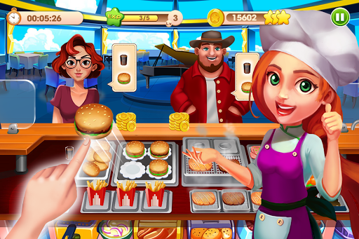 Cooking Talent - Restaurant manager - Chef game  screenshots 1