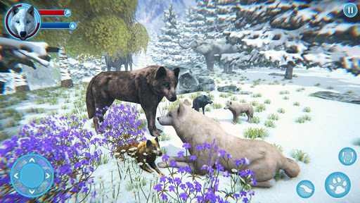 Arctic Wolf Family Simulator: Wildlife Games 17 screenshots 1