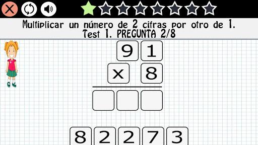 Matemu00e1ticas 7 au00f1os screenshots 7