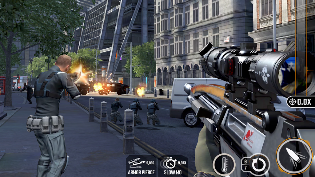 Sniper Strike APK Mod poster 10