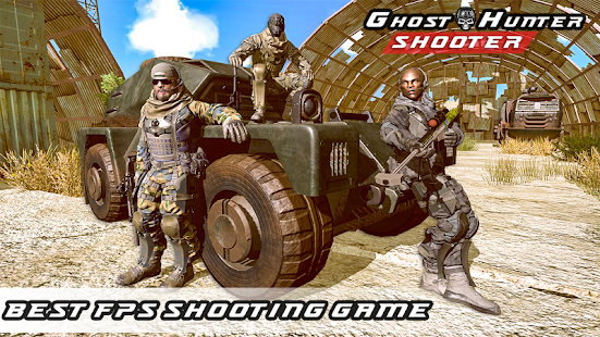 Ghost Hunter Shooter - Shooting Games 1.0 Screenshots 13