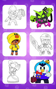 Coloring for Brawl Stars