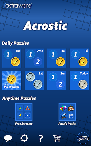 Astraware Acrostic  screenshots 12