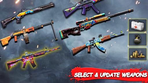 Jeux de tir: Shooter gratuit hors ligne 2021 APK MOD (Astuce) screenshots 3