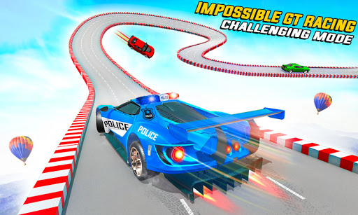 Police Car Ramp Stunts Race 3D 4.3 screenshots 1