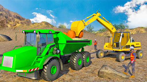 Heavy Excavator Simulator:Sand Truck Driving Game  screenshots 4
