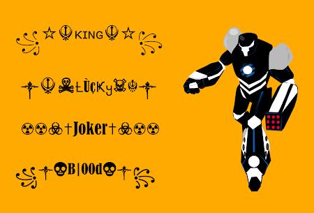 Symbols Creator ⚡ Nickname Generator for FF 1