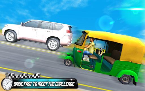 Prado vs Tuk Tuk Auto Rickshaw Racing  screenshots 8