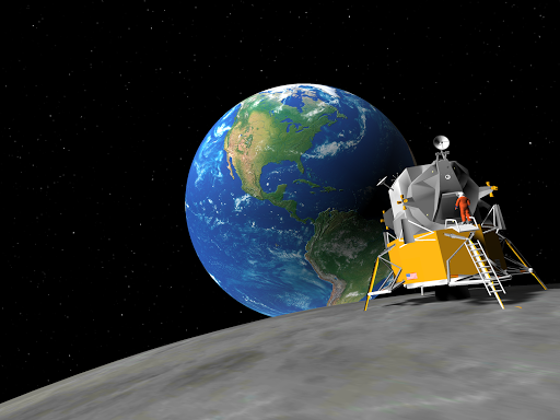VR Moon Landing Roller Coaster 360 Virtual Reality 1.13 screenshots 5