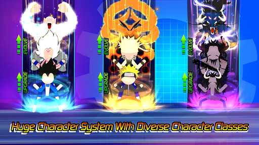 Super Stick Fight All-Star Hero: Chaos War Battle apktreat screenshots 2