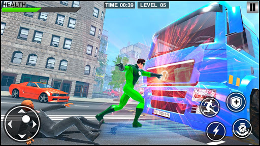 Rope Frog Hero: Rope Ninja Fighting Games 1.0.5 screenshots 4