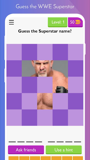 Wrestling universe Wwe Quiz 2021 : puzzle for WWE screenshots 2
