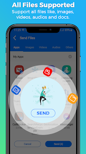 SHARE ALL : File Transfer & Share Files Screenshot