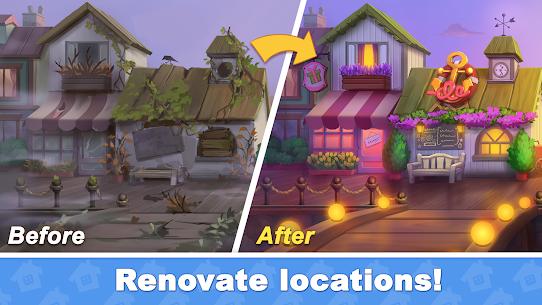Town Blast: Restore & Decorate the Town! Match 3 Mod 0.9.0 Apk (Unlimited Gold/ Diamonds) 2