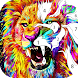 Lion paint by number-Free coloring offline games - Androidアプリ