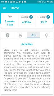 My Baby: Development Tracker App 0-12 Months Free 1.6 Screenshots 5