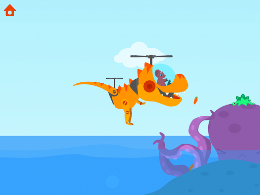 Dinosaur Helicopter - Games for kids  screenshots 12