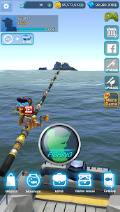 Monster Fishing 2020 Altın/Elmas Hileli apk 0.1.184 2