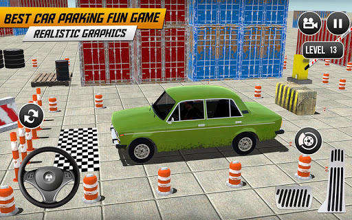 Prado Car Parking Game: Extreme Tracks Driving 3D  screenshots 5