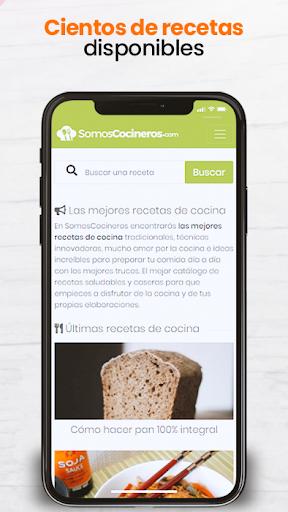 Recetas de cocina gratis - Somos Cocineros 1.3 Screenshots 1