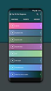 Top Ringtones from Tik music 1.3 Screenshots 7
