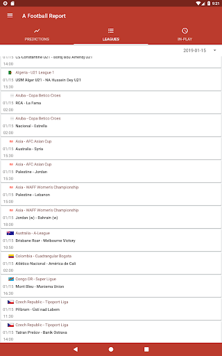 Football Tips & Stats - A Football Report 2.6 Screenshots 5