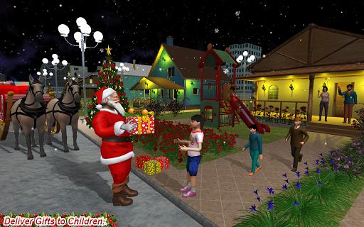 Christmas Flying Santa Gift Delivery apkdebit screenshots 3
