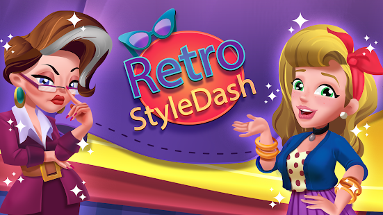 レトロなスタイルのダッシュ-ファッションショップシミュレーターゲーム