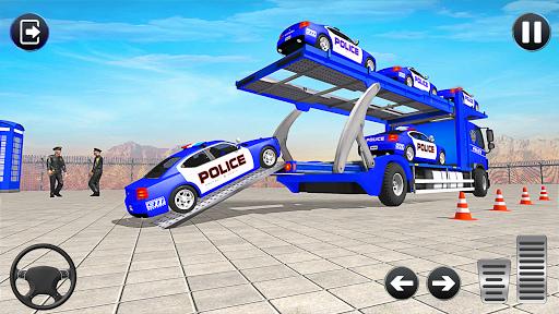 Grand Police Vehicles Transport Truck  Screenshots 2