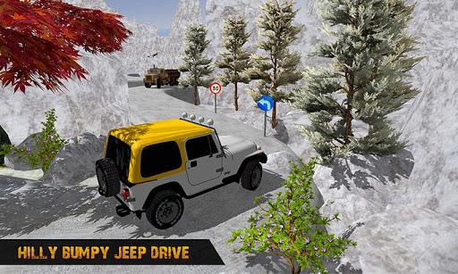 Offroad Jeep Driving Simulator : Real Jeep Games Apkfinish screenshots 2
