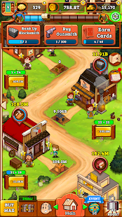 Idle Frontier: Tap Town Tycoon Screenshot