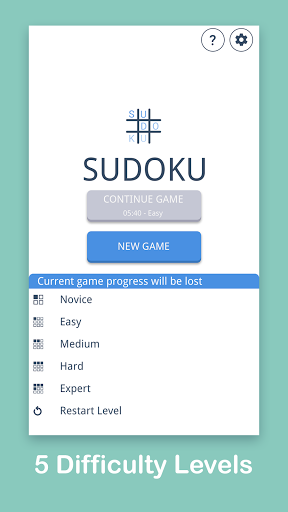 Sudoku: Easy Sudoku & Free Puzzle Game 1.0.8 screenshots 4