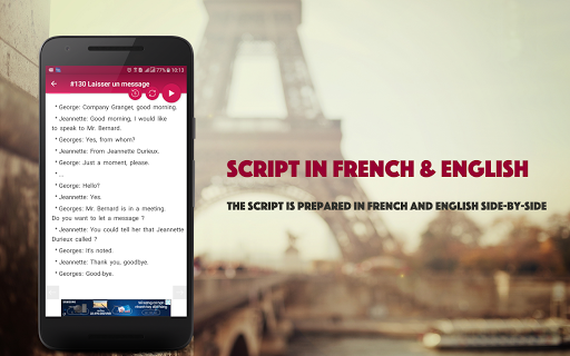 French Conversation: Learn to speak French android2mod screenshots 6