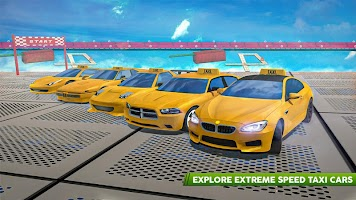 Real Taxi Car Stunts 3D: Impossible Ramp Car Stunt
