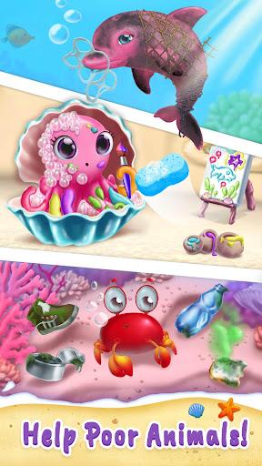 Sweet Baby Girl Mermaid Life - Magical Ocean World apkmr screenshots 5