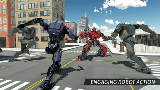 Air Robot Game - Flying Robot Transforming Plane  screenshots 9