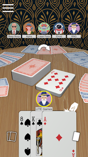 Crazy Eights free card game  screenshots 1