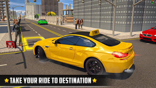 City Taxi Driver 2020 - Car Driving Simulator  screenshots 6
