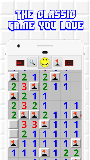 Minesweeper for Android - Free Mines Landmine Game 2.7.8 screenshots 1