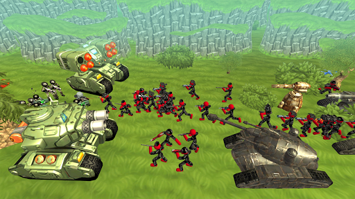 Stickman Tank Battle Simulator 1.10 screenshots 3