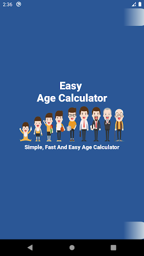 Easy Age Calculator  screenshots 1