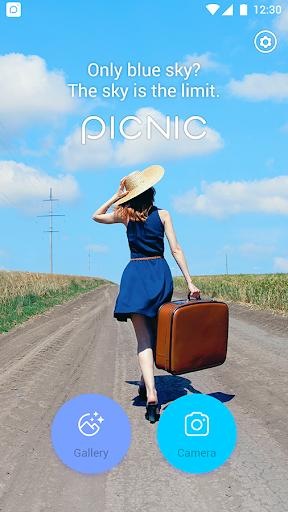 PICNIC - photo filter for dark sky, travel apps  screenshots 1