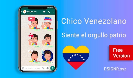 Chico Venezolano - Stickers para Whatsapp - Free Screenshot
