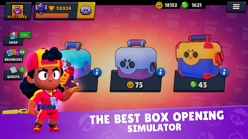 Star Box Simulator for Brawl Stars: Open The Boxes  screenshots 1