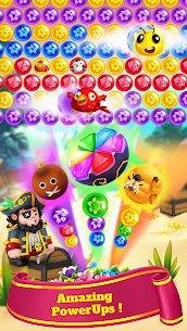 Bubble Shooter MOD APK- Flower Games (Unlimited Lives) Download 4