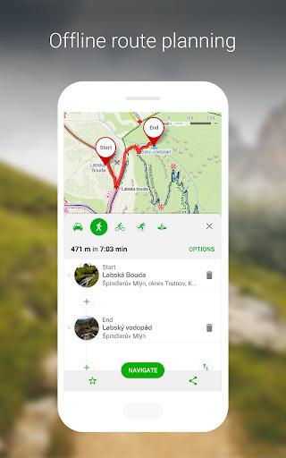 Mapy.cz - Cycling & Hiking offline maps 7.6.1 Screenshots 4
