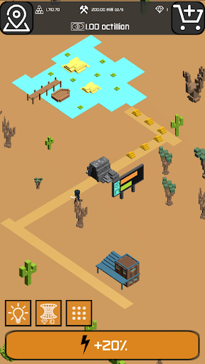 Minr - Gold Idle Incremental Rush Goldmine Tycoon  screenshots 3