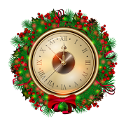 Christmas & New Year Clocks Live Wallpaper
